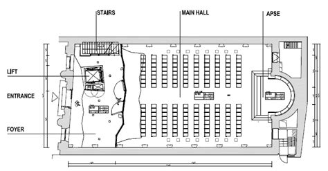 floor plan of church church swiss church in londonswiss church in
