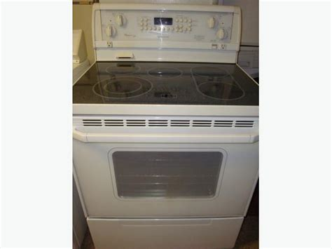 whirlpool flat top stove self clean and convection oven central ottawa inside greenbelt ottawa