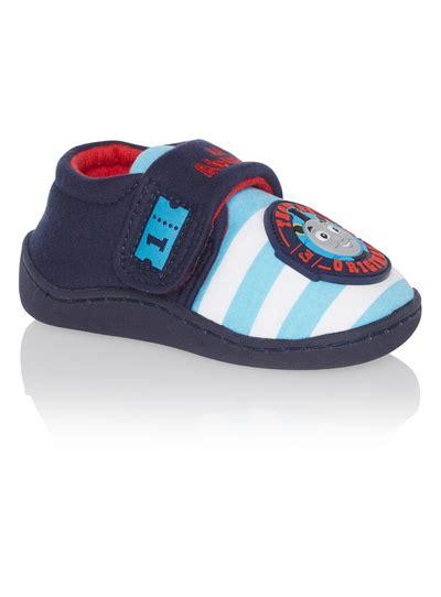 sainsburys slipper boots all boy s clothing boys blue slippers tu clothing