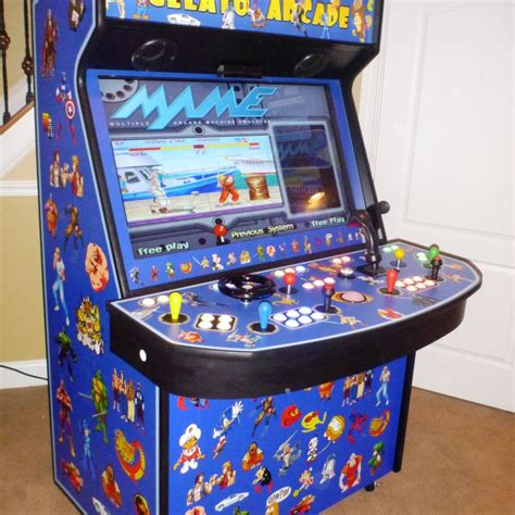 beautiful 4 player arcade cabinet on products arcade games