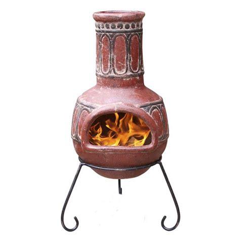 Clay Patio Heater Mexican Clay Chimenea Basilica Chiminea Patio Heater