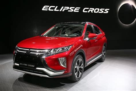 mitsubishi eclipse 2018 mitsubishi eclipse cross brings evo tech to geneva