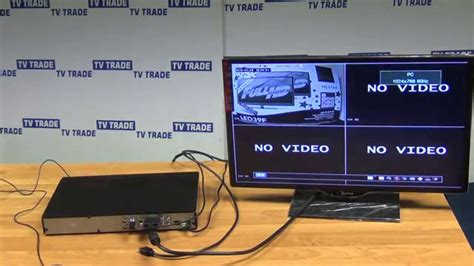 Cctv Connect Hp how to connect laptop to lcd tv using vga to hdmi cable efcaviation