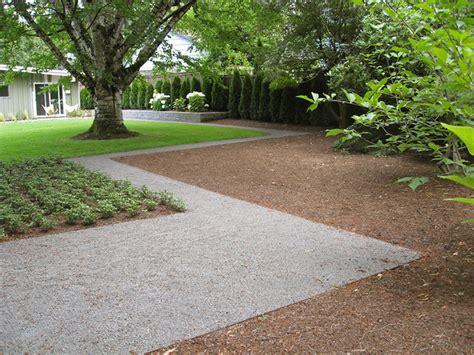 Landscape Gravel Pictures Mid Century Ranch Gravel Path