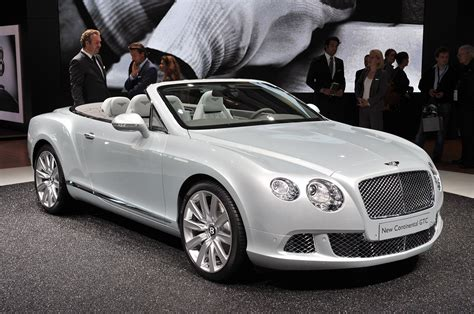 green bentley convertible 2012 bentley continental gtc wafts onto stage w video