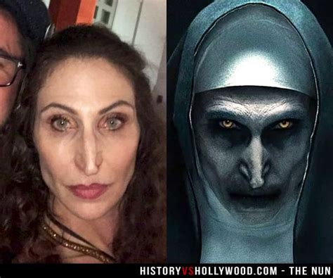 actor the nun pin by history vs hollywood on true story horror in 2018