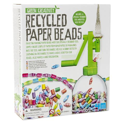 Paper Bead Kit - kidz labs recycled paper kit s of kensington