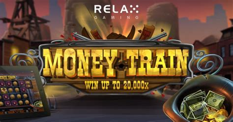 relax gaming releases  western slot machine named money train
