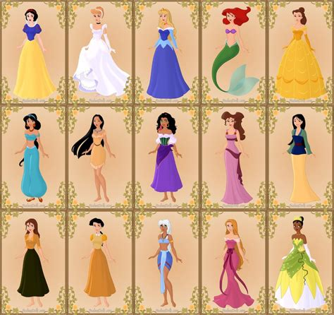 disney names list of disney princesses new calendar template site