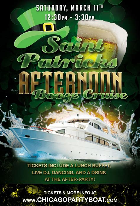 s day cruise 2017 st patrick s day afternoon booze cruise at navy pier 2017
