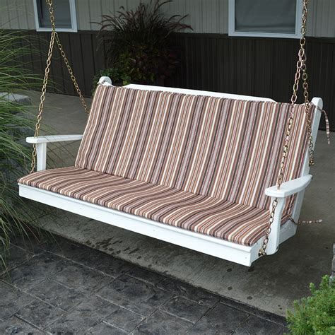 cushions for outdoor swings a l furniture co 68 x 38 full outdoor cushion for benches