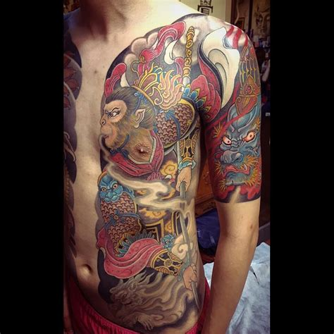 how much are tattoos monkey king by tattoohua hua makes some of the best