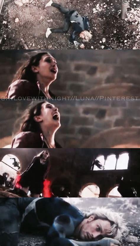 quicksilver movie death wanda screams in grief as she senses pietros death