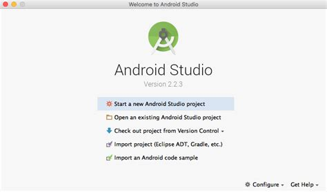 android studio appium tutorial beginning android development part two using android studio