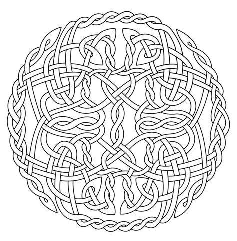 coloring pages of celtic designs mandala art free coloring pages celtic circle x
