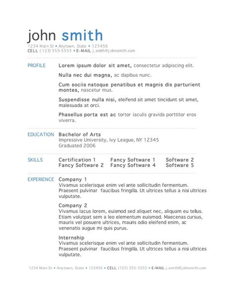 cv format in word 2015 resume exles templates best 10 download word template