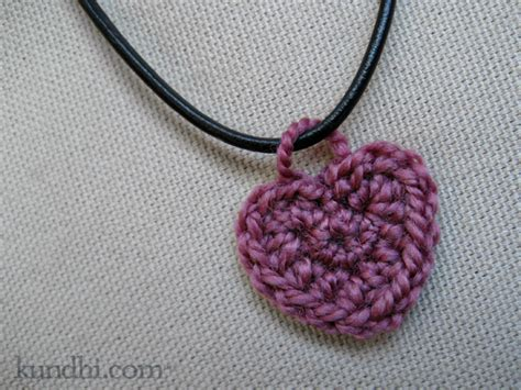 crochet pattern for heart necklace return to julie k crochet heart necklace