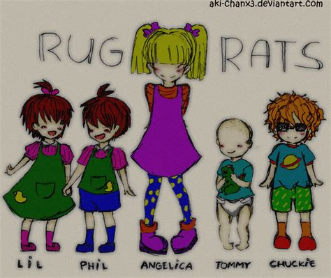 rug rats theory rugrats by aki chanx3 on deviantart
