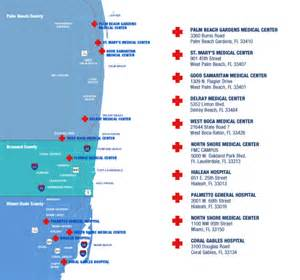 hospitals in map trusted south florida hospitals tenet florida physician