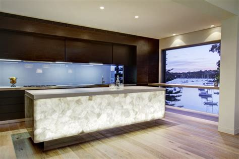 contemporary countertops white quartz semi precious contemporary miami by