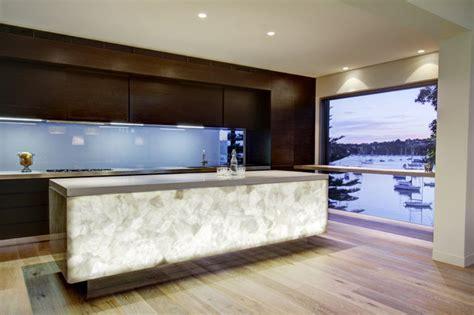 White Quartz Semi Precious   Contemporary   Miami   by