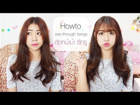 Potong Rambut Model 012 by Cara Mudah Potong Poni Quot See Through Quot Ala Korea Tertarik