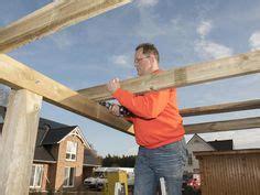 carport selber konstruieren gartenhaus selber bauen bauabschnitt 3 das dach der