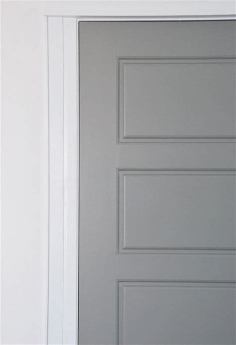 painted interior door diy gray painted interior doors hometalk