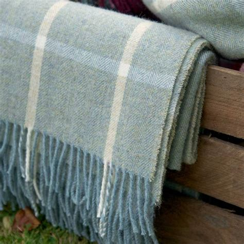 light blue throw blanket 100 shetland wool throws by susie watson designs