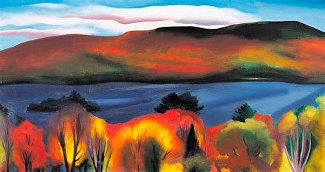 Decorative Item For Home by Georgia O Keeffe Landscapes Panoramic Boxed Notecards