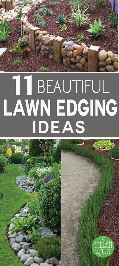 ideas  metal garden edging  pinterest