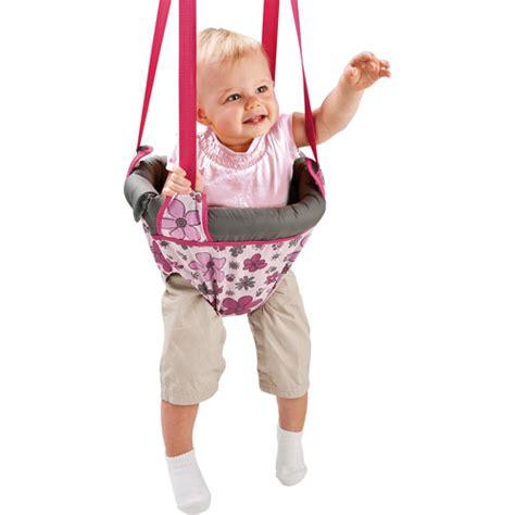 babies r us swing bouncer evenflo jenny jump up doorway jumper daisy scribble