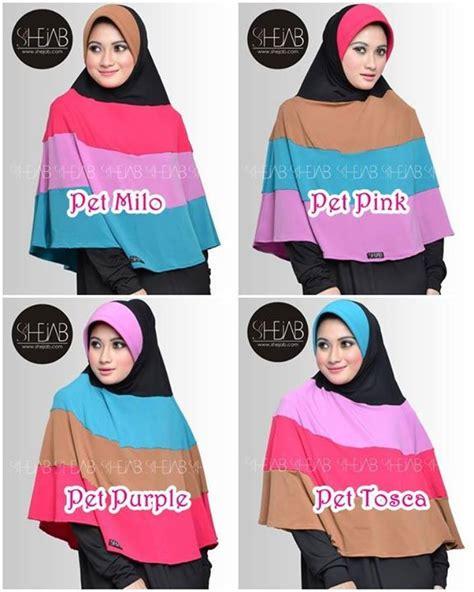 Dress Jersi Lengan Tumpuk busana muslim koleksi terbaru