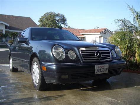 97 Mercedes E320 by Fs 97 Mercedes E320 W211 Midnight Blue Black 156k