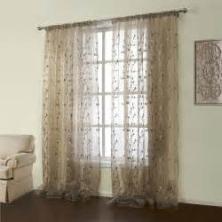 128 Curtain Rod Curtains Sheer Curtains One Panel Country
