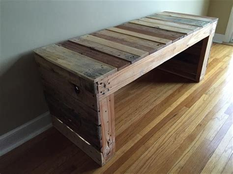 diy wood bench diy pallet bench pallet furniture plans