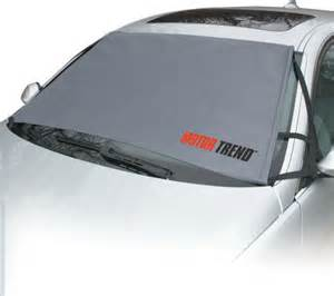 Car Window Cover For Snow Qvc Motor Trend Guard No Scrape Windshield Protector