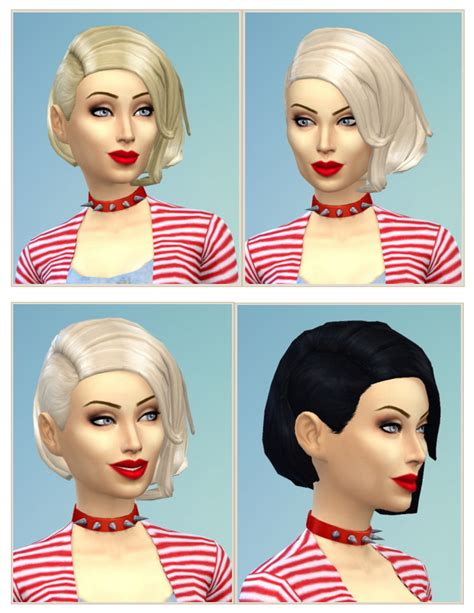 shaved hair sims 4 shaved bob hair females at birksches sims blog 187 sims 4
