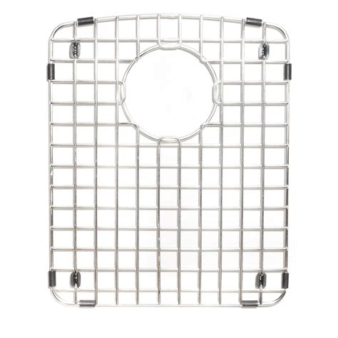 Sink Protector Stainless Steel by Bottom Bowl Grid Plate Glass Dishes Level Sink Protector
