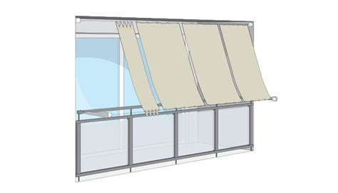 markise senkrecht balkon hochwertige sonnensegel seilspannsonnensegel segeltuch