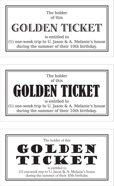 5 Best Images Of Golden Ticket Template Word Golden Ticket Template Printable Printable Wonka Golden Ticket Template Word