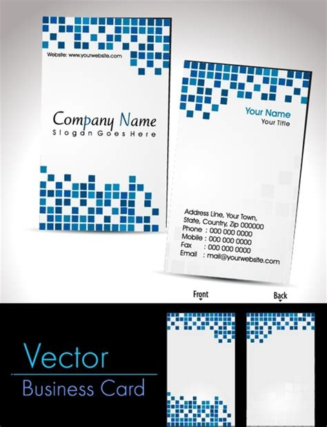 card vector business card business card templates box free