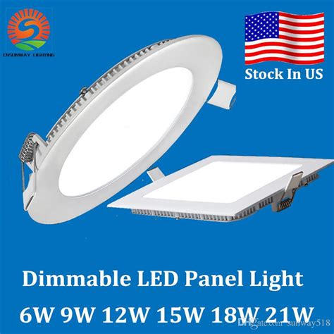 Lu Downlight 18 W dimmable 9w 12w 15w 18w 21w cree led recessed downlights