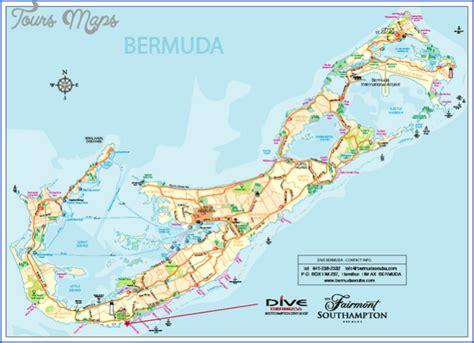 bermuda world map bermuda map toursmaps