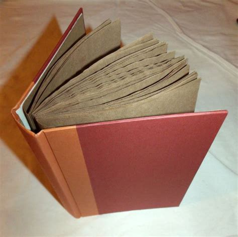 How To Make A Diary Out Of Paper - make a journal or scrapbook out of paper bags and an