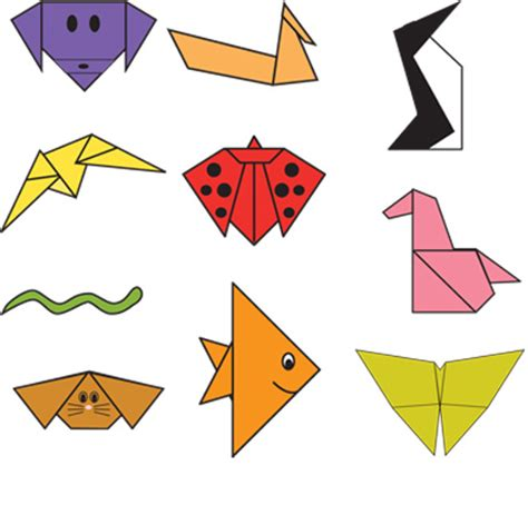 How To Make Easy Paper Animals - easy origami animals step by step image search results