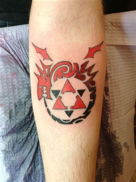 full metal alchemist tattoo metal alchemist ideas