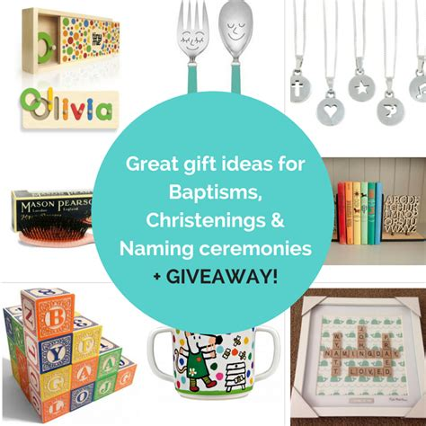 Great Gift Giveaway - great gift ideas for baptisms christenings naming ceremonies giveaway