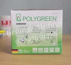 Tensimeter Polygreen alat tensi darah polygreen kp 6241 toko medis jual alat