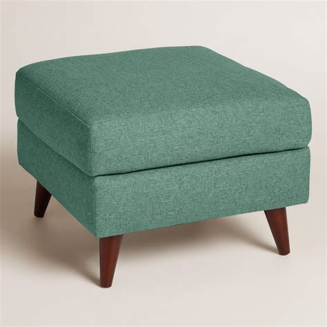 cost plus ottoman cost plus world market chunky woven jorna upholstered